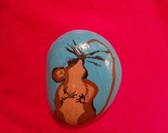 Adorable hand painted rocks