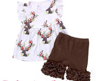 Oh Deer! 2 piece outfit!