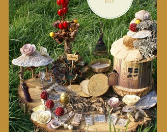 Fairy Village Box / fairy Village - hardware Kit
