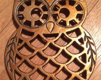 Owl Powder Coated Trivet