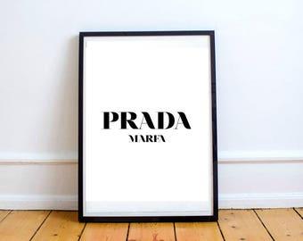 Prada Marfa Art Print