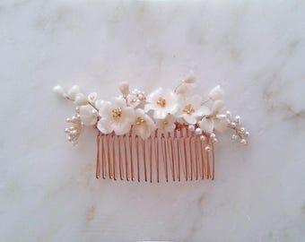 Comb bridal ALEONOR