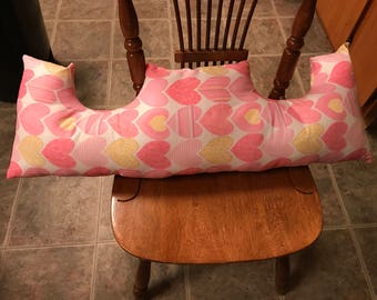 Mastectomy Pillow Breast Cancer Pillow Post Op Surgery Pillow Double Mastectomy Healing Pillow Chest Pillow Car Ride