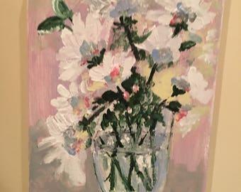 Bursting with blooms joyingrace art
