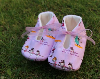 Shoes of baby dancers-size 3-6 months