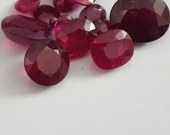 26 cts of natural Ruby's