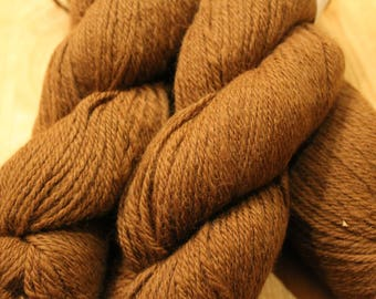 Alpaca Yarn - Milk Chocolate Brown
