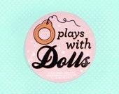 PLAYS WITH DOLLS Vinyl Sticker Blythe Doll
