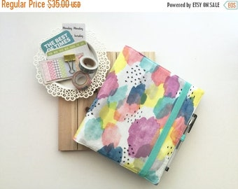 SALE - Erin Condren Life Planner Cover - Watercolors - EC Life Planner Cover - Planner Case - Planner Accessories