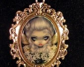 Starry Wild Jasmine Cameo Necklace from Jasmine Becket-Griffith Art fairy goth flowers