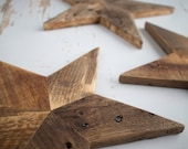Rustic Wooden Star Made from Pallet Wood