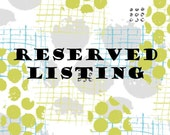 Reserved Listing for Froydis