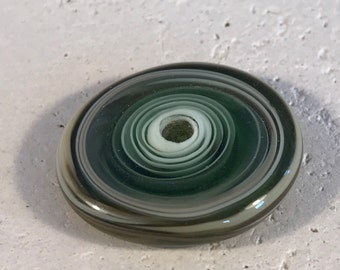 Focal Discs - Green Ivory and Tan