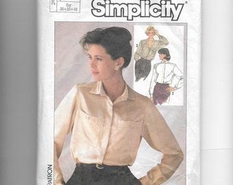 Simplicity Misses' Blouse Pattern 7047