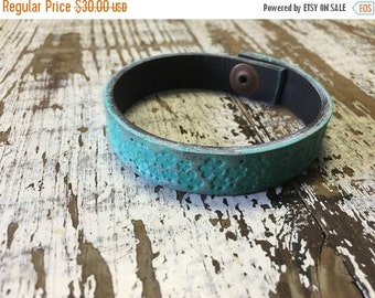40% OFF- Custom Leather Cuff-Create Your Own--Word Cuff-Hand Painted