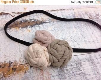40% OFF- T-Shirt Bloom Headband-Neutral #3-Eco Friendly