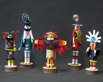 Miniature Katchina Dolls