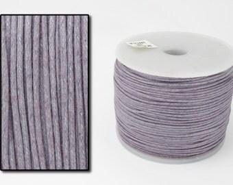 Dusky Lavender .5mm Cotton Cord #CDT001