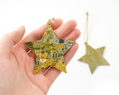 Circuit Board Ornament Star - Geeky Ornament - Computer Science Gift - Gift Under 25 - Techie Stocking Stuffer