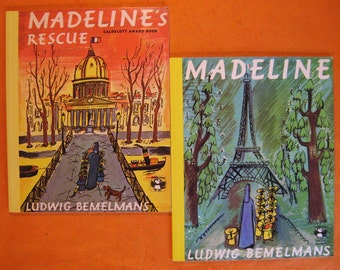 Two Madeline Books: Madeline / Madeline's Rescue by Ludwig Bemelmans
