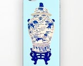 GINGER JAR on Stand Cover iPHONE & Galaxy - 2 Styles