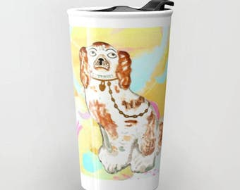 BETTYS ON ABSTRACT Travel Mug