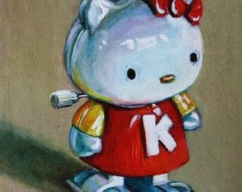 """Sale! Custom Toy Portrait - acrylic, 8""""x10"""""""