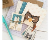 Furry Critter Stationery Set - Cards, Mini Journal and Sticker Set