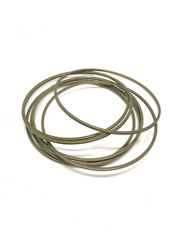SALE! Brass bangle smooth brass bangle bangle bracelet