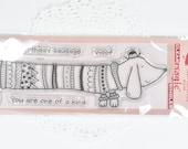 Sausage Dog Wienie Dog Dashchund Clear Stamp