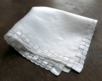 Victorian Antique Handkerchief