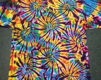 tie dye shirt Fireworks tye die tiedye tie dyed 5XL 4XL 3XL 2XL available CUSTOM MADE