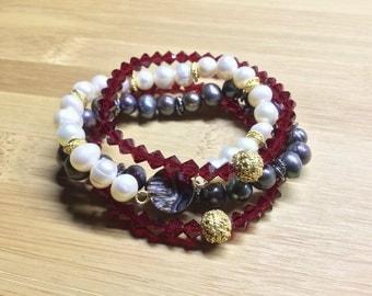 Swarovski Stretch Bracelets