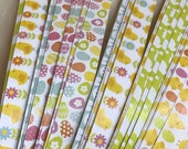 "Half price* 1/2"" Weaving Star Paper~ Easter (50 strips)"