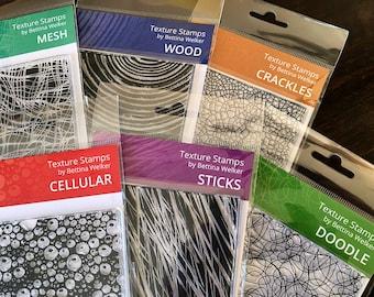 Texture Stamp Set – All 6 Textures by Bettina Welker