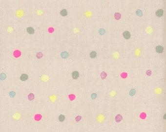 Nani Iro Kokka Japanese Fabric Colorful Pocho - sourire - 50cm