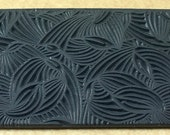DANCING HOSTA Rubber Texture Tile Mat Stamp for Clay inks  Paint Soap   TTL727