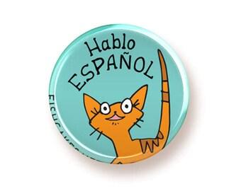 Hablo Español - button