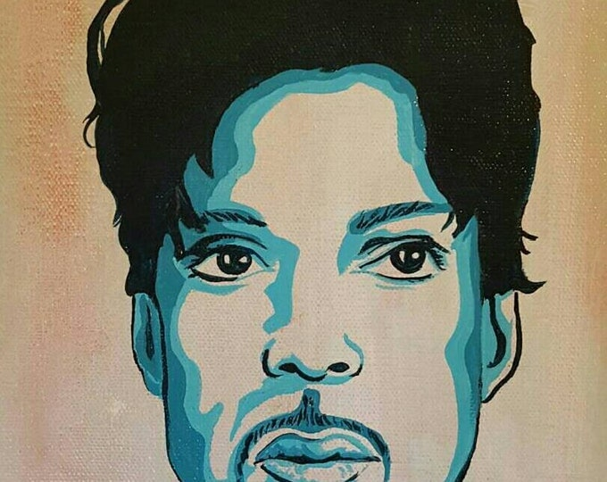 Prince - Original painting by Mr Hooper of Nashville Tennessee