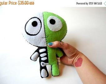 35% SALE The Half Plush / Eco Friendly Plush Toy