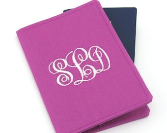 Personalized Passport Cover, Monogram Passport, Embroidered Passport Cover, Passport Holder, Passport Wallet, Passport Case, Travel Gift
