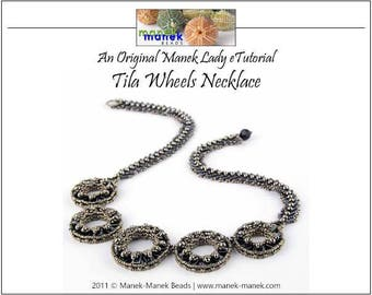 eTUTORIAL Tila Wheels Necklace