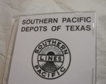 Southern Pacific Railroad Depots of Texas 55 Slides on DVD