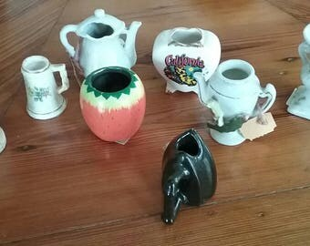 Lot of Vintage Toothpick Holders