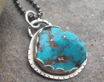 20% Off - Sterling Silver Turquoise Necklace