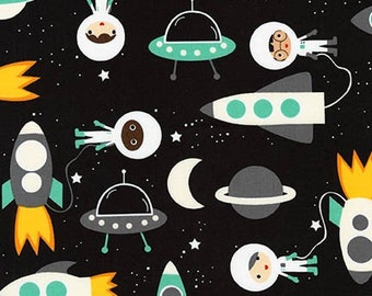 Space Explorers, Astronauts and spaceships om Mint, by Ann Kelle, Robert Kaufman, yard