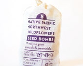 Native Pacific Northwest Wildflower Seed Bombs Gardening Gift