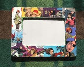 """Buffy The Vampire Slayer inspired Comic Themed Decoupage 4""""X6"""" Picture Frame"""
