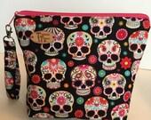 Sugar Skulls Project Bag