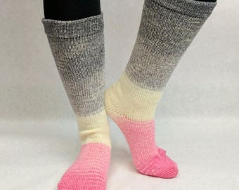 Come What May Panoramic Gradient Matching Socks Set Yarn, dyed to order - pick your size, pick your yarn base